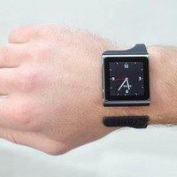 Nanolet - iPod Nano Bracelet by curvecreative on Shapeways
