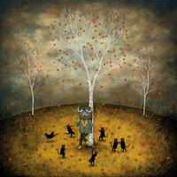 Revel in the Wild Joy Offset Litho Print by andykehoe on Etsy