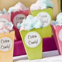 50 Cotton Candy Boxes