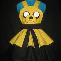 Jake the Dog Adventure Time Inspired Cosplay Apron Pianfore