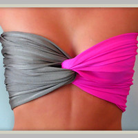 Anywhere Spandex Bandeau by Sidewalk616 on Etsy