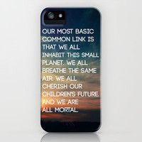 We are All Mortal ~ JFK iPhone Case by Caleb Troy | Society6