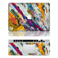 Colorful life --- Apple Laptop Macbook Decals Macbook Stickers  Vinyl Decal Skin Cover for  Macbook Pro / Macbook Air