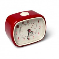 Alarm Clock Bakelite Red | DotComGiftShop