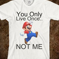 YOLO.... NOT MARIO - Marvel Designs