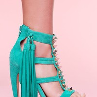 Strung Platform Pump in What's New at Nasty Gal