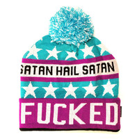 Totally / Fucked Pom Pom Beanie | KILL STAR