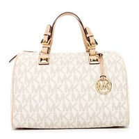 MICHAEL Michael Kors  Grayson Large Logo Satchel - Michael Kors