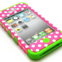 Green Soft Skin Case Hyb...