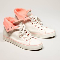 AEO Two-Tone High Top Sneaker | American Eagle Outfitters