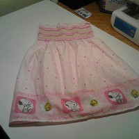 Pink Spring Snoopy Dress 2t-4t from Wild Ivy