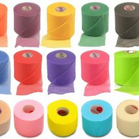 Colorful Foam Pre-Wrap Underwrap in 15 Colors