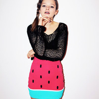 Lazy Oaf | Watermelon Skirt