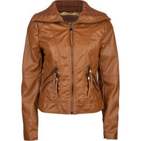 CI SONO Womens Faux Leather Jacket 206178457 | Jackets | Tillys.com