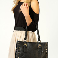 Tabitha Stud Structured Shopper