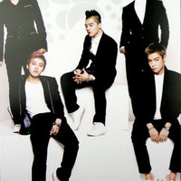 KPOP KOREAN MUSIC BIGBANG #5 THICK QUALITY EMBOSSED COATED POSTER