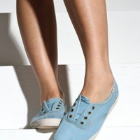 $40.00 Keds - Women&#x27;s Champion Not Too Shabby (Blue) | 80&#x27;s Purple