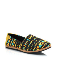 tribal-print-flats BLACKMULTI - GoJane.com