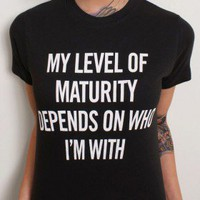 My Maturity  - Dirty Shirty