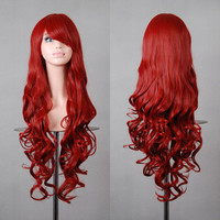 deep red wig