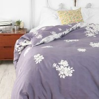 Falling Floral Duvet Cover