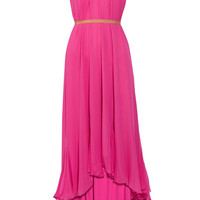 Elizabeth and James Marissa silk-chiffon dress – 60% at THE OUTNET.COM