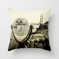 Bridge View Throw Pillow by SSC Photography | Society6