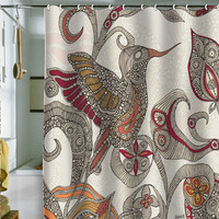 Valentina Ramos Flying Shower Curtain