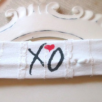Printed stretch headband - SALE - Toddler - XO the weeknd