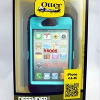 BLACK/TEAL OTTER BOX DEF...