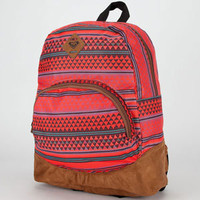 Roxy Fairness Backpack Red Combo One Size For Women 21279034901