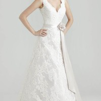New white/ivory Lace wedding dress custom size 2-4-6-8-10-12-14-16-18-20-22+++++