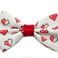 Zelda Hearts Hair Bow