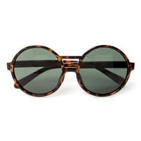 Get Into the Groove Tortoise Sunglasses