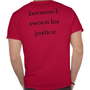 Les Misérables Love: I Swoon for Enjolras Shirt from Zazzle.com