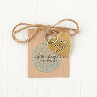 Free People Vintage Inspired Pet Tags
