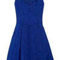 Zac Posen|Embroidered organza dress|NET-A-PORTER.COM