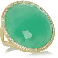 Ippolita | Lollipop 18-karat gold, chrysoprase and diamond ring | NET-A-PORTER.COM