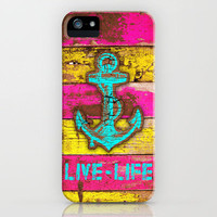 Anchor Marine iPhone Case by Maximilian San | Society6