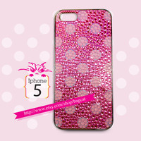 Color Glob series-Pink Ball Iphone5 Case, iPhone 5 case, iPhone case, iphone cover, iphone 5 cover