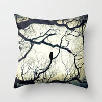 Mysterious Woods Throw Pillow by SSC Photography | Society6