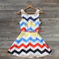 Zig Zag Falls Dress, Sweet Women&#x27;s Country Clothing