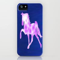 Magical Horse iPhone Case by Laura Santeler | Society6