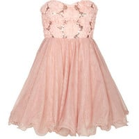 Tulle Flower Dress