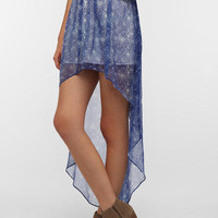 Urban Outfitters -  Ecote Sachi High/Low Chiffon Skirt