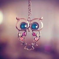Instafashion  Owl Necklace