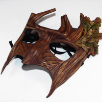 Greenman Handmade Mask by ~Shadows-Ink on deviantART