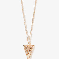 Cutout Geo Necklace | FOREVER 21 - 1042823938