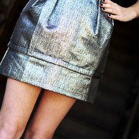 Tell Me That You Love Me Skirt: Silver | Hope&#x27;s