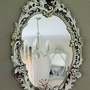 rococo style oval mirror by pippin &amp; tog | notonthehighstreet.com
